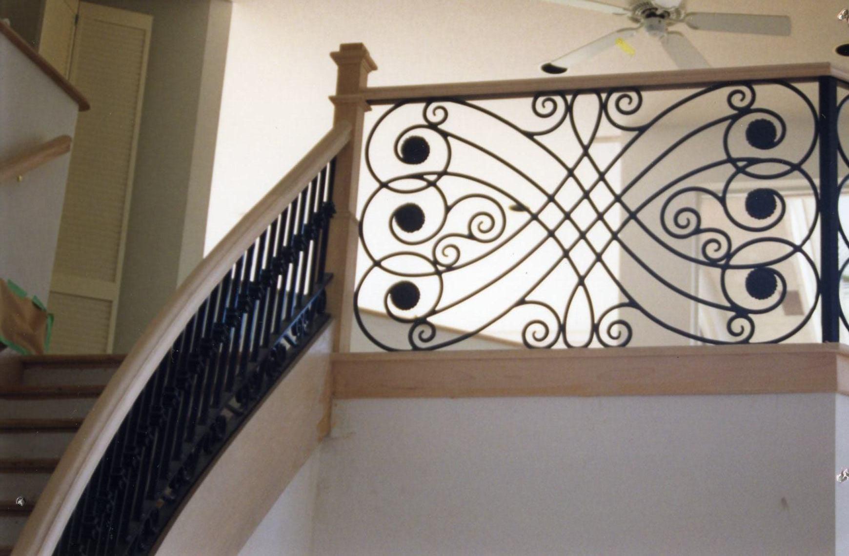 Interior Balcony Railings - Allied Aluminum